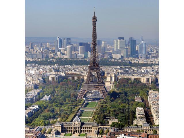 Paris - Eiffelturm und Marsfeld2 image