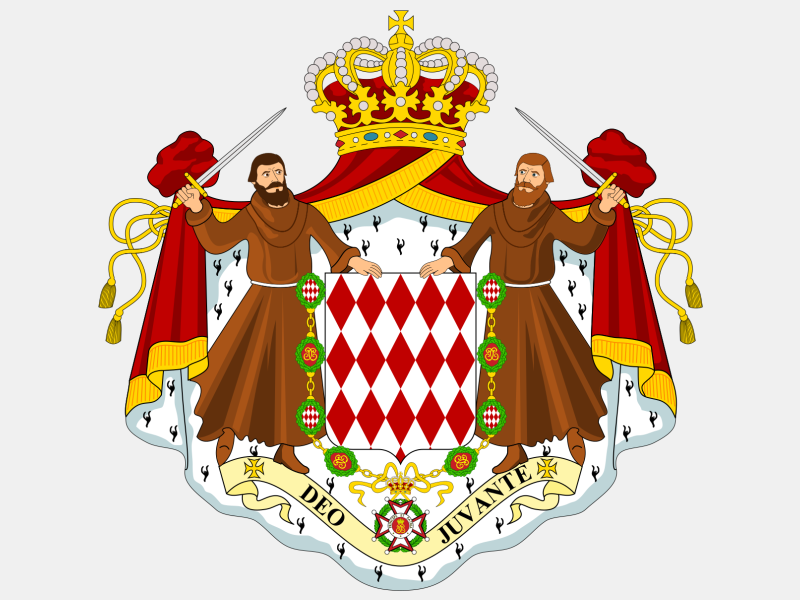 Coat of arms of Monaco coat of arms image