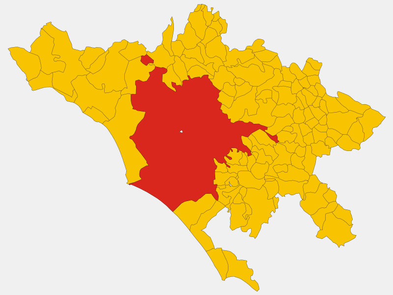 Rome locator map