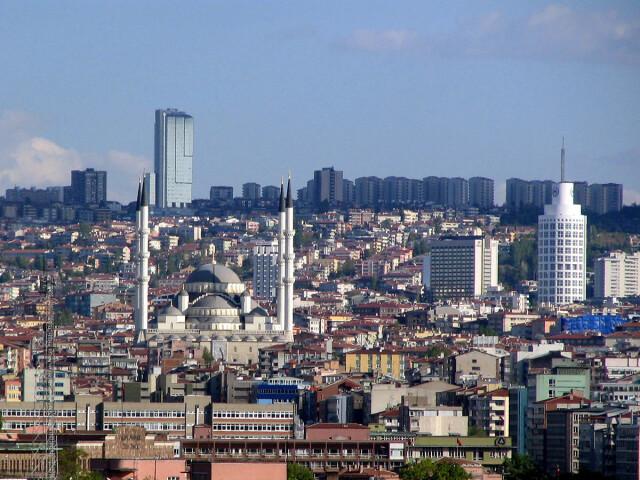Ankara and mosque wza image
