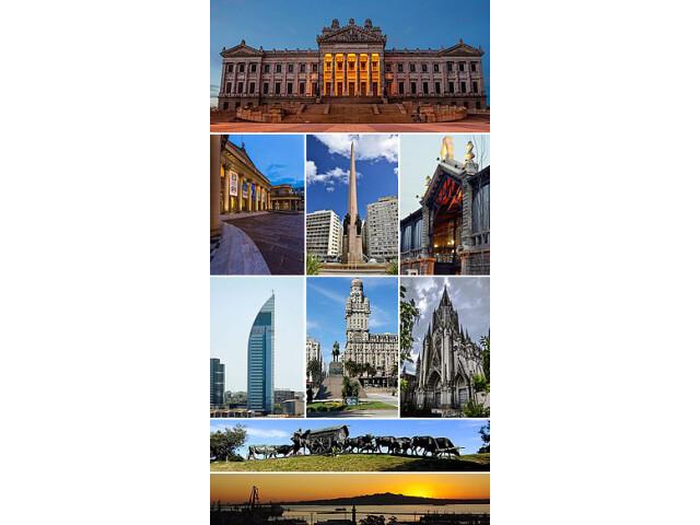 Collage Landmarks of Montevideo image