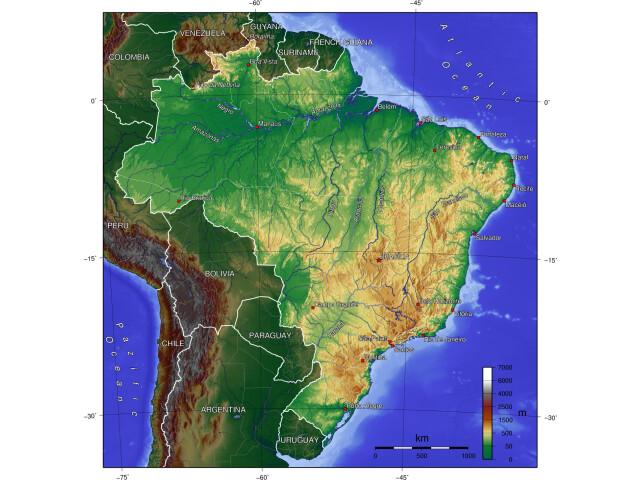 Brazil topo image