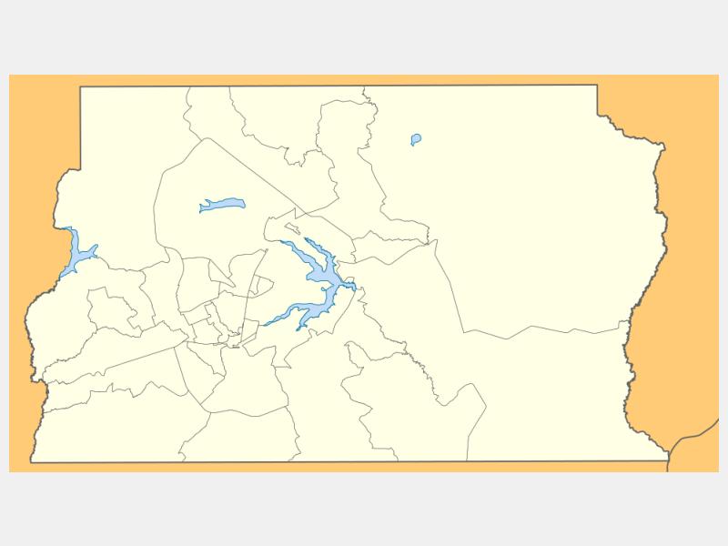 Brasília locator map
