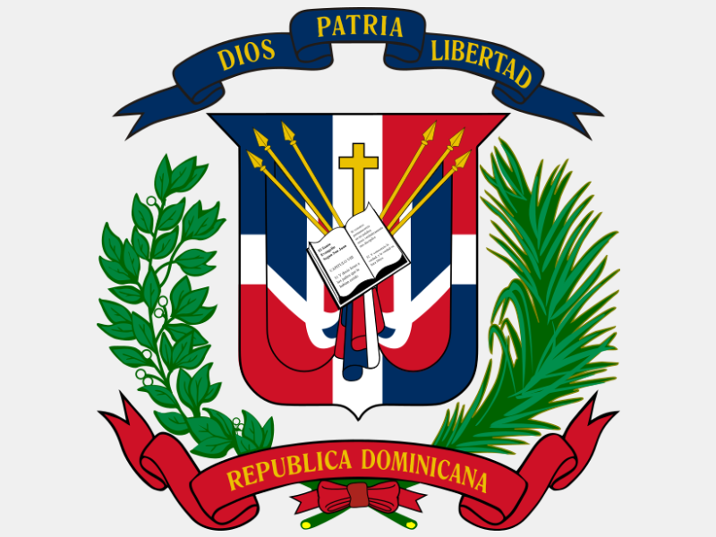 Coat of arms of the Dominican Republic coat of arms image