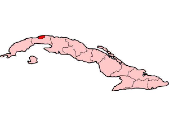Havana locator map