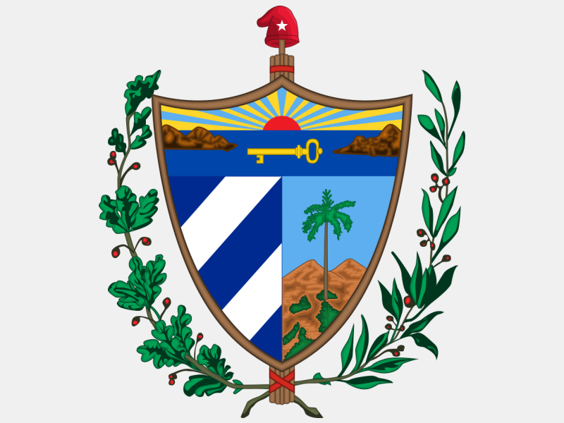 Coat of arms of Cuba coat of arms image