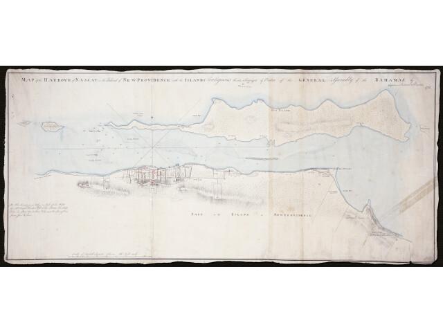 Nassau locator map