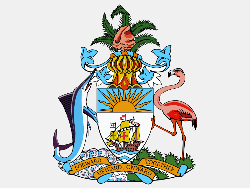 Coat of arms of the Bahamas coat of arms image