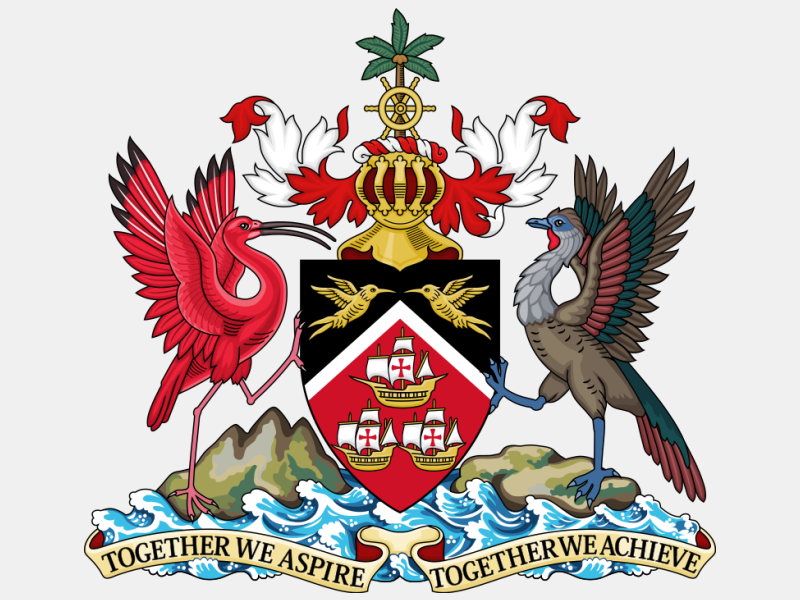 Coat of arms of Trinidad and Tobago coat of arms image