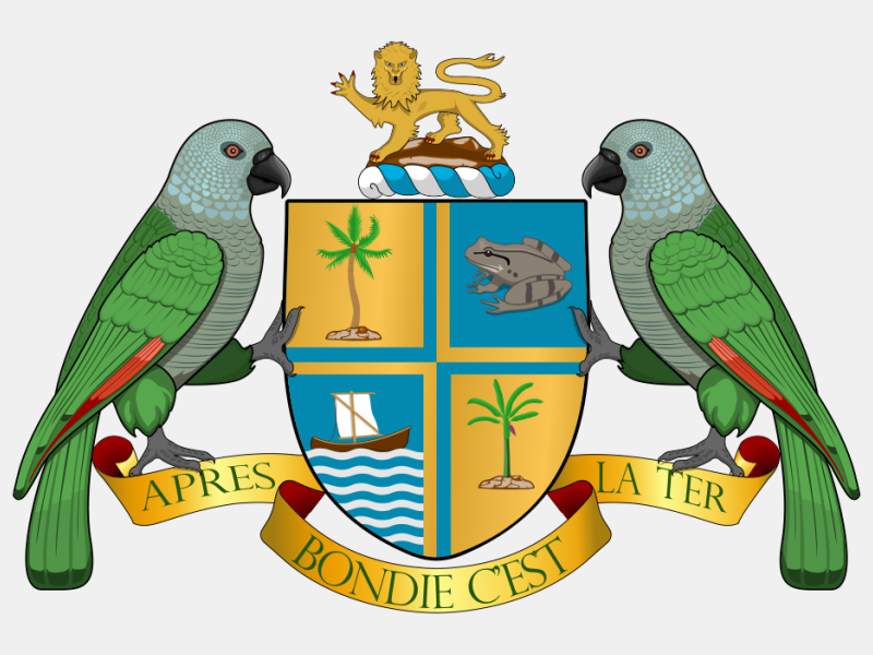 Coat-of-arms-of-Dominica coat of arms image