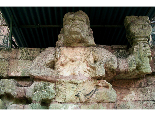 Copan sculpture image