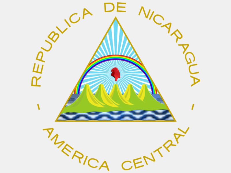 Coat of arms of Nicaragua coat of arms image