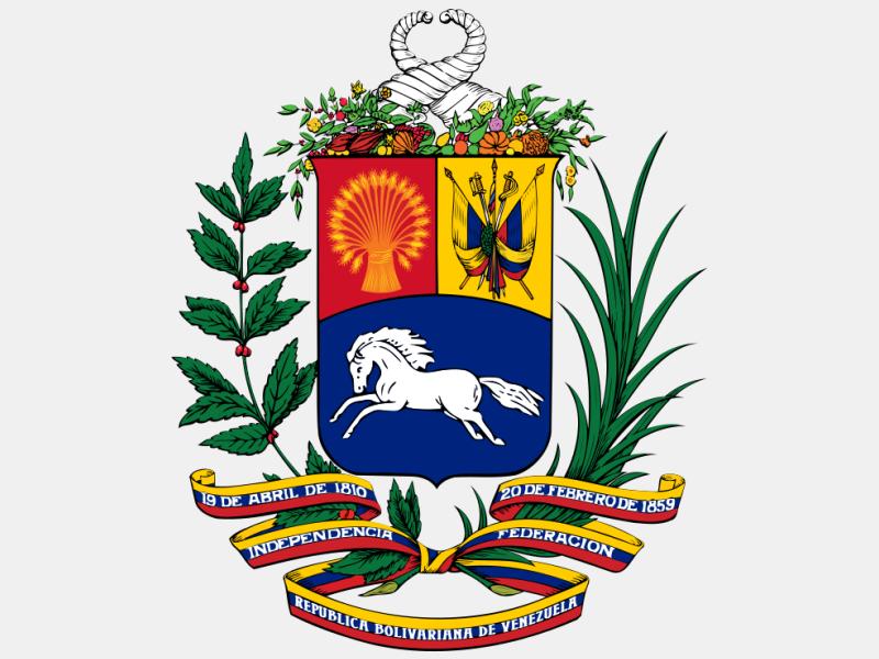 Coat of arms of Venezuela coat of arms image