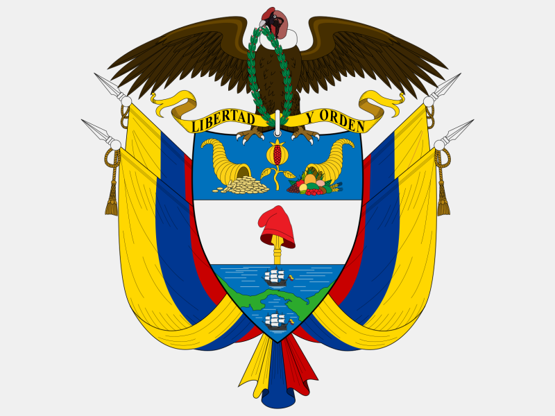 Coat of arms of Colombia coat of arms image