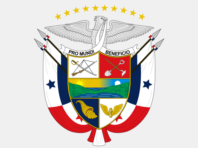 Coat of arms of Panama coat of arms image