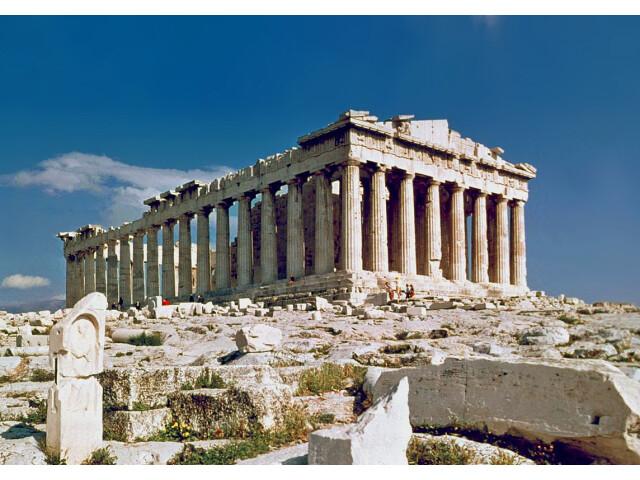 The Parthenon in Athens image