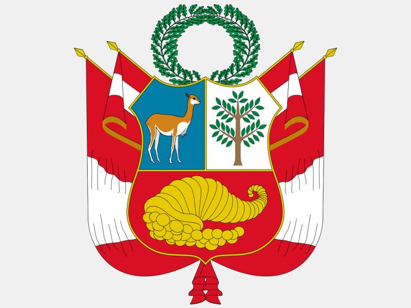 Escudo nacional del Per%C3%BA coat of arms image