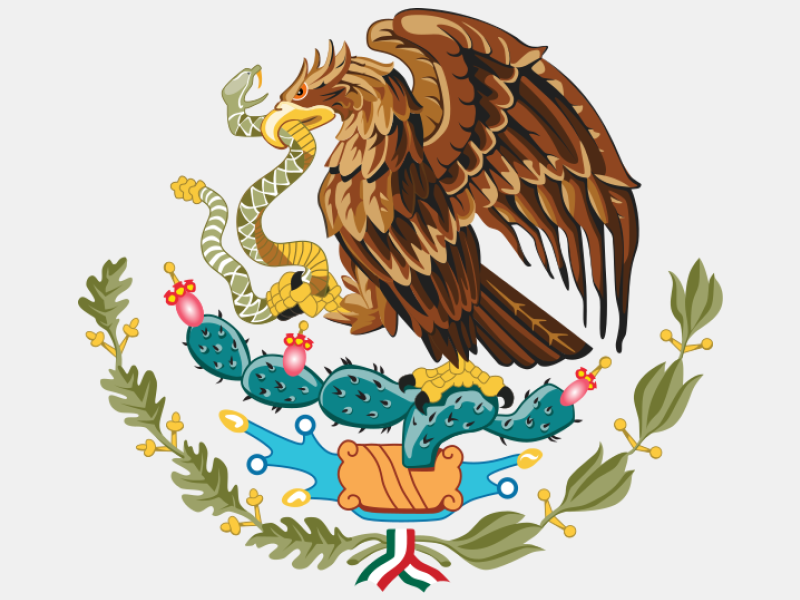 Coat of arms of Mexico coat of arms image