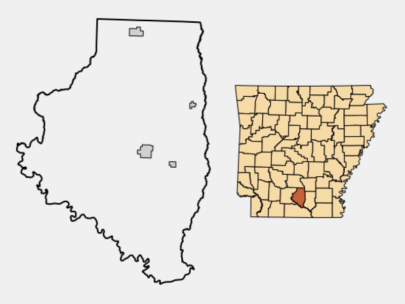 Thornton locator map