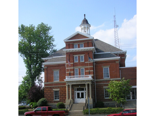 Boone county courthouse image