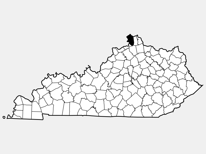 Boone County, KY locator map