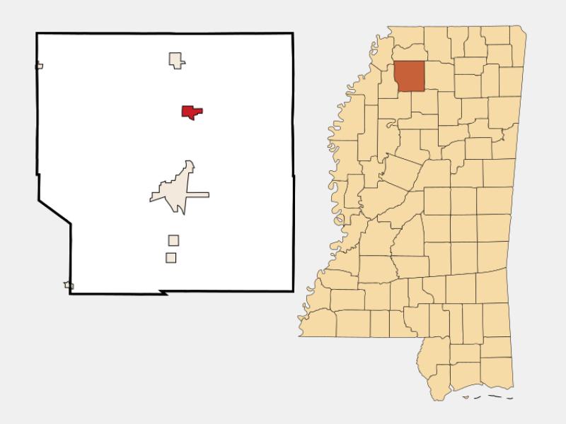 Sardis locator map