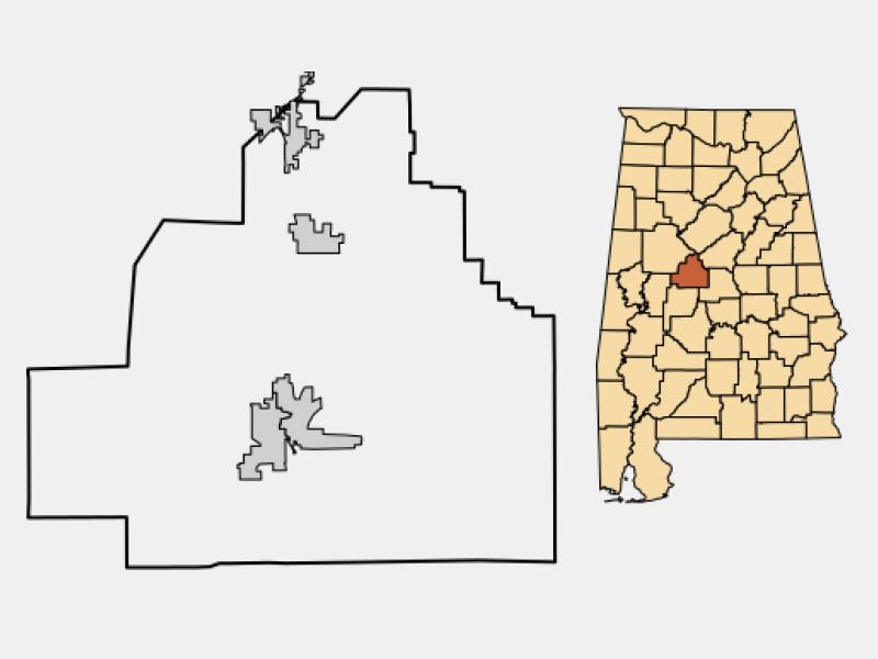 Brent locator map