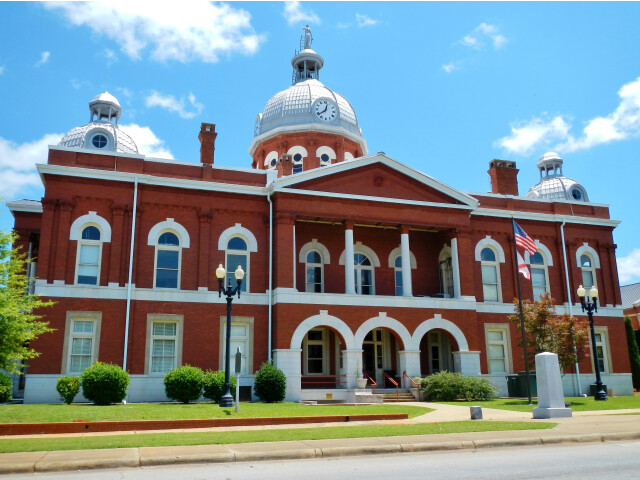 Chambers County  AL Courthouse 'NRHP' image