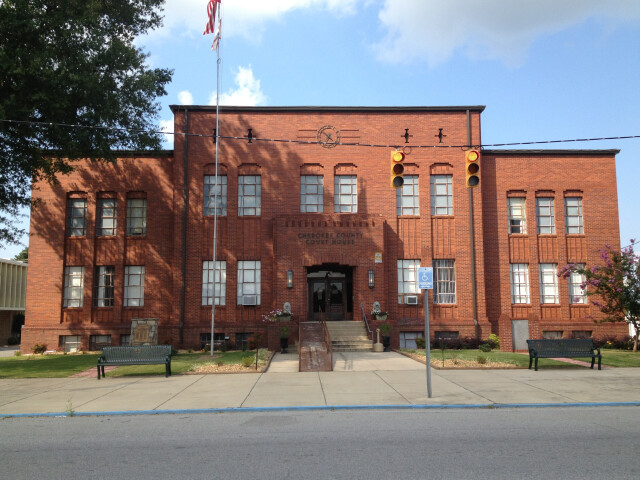 Cherokee County Courthouse in Centre  Ala image