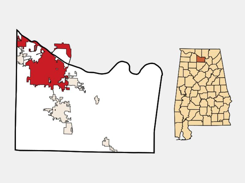 Decatur locator map