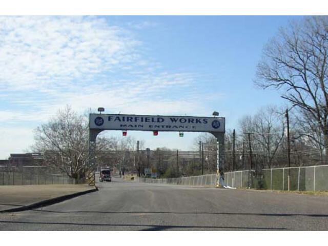 U. S. Steel Fairfield Works in Fairfield  Alabama image