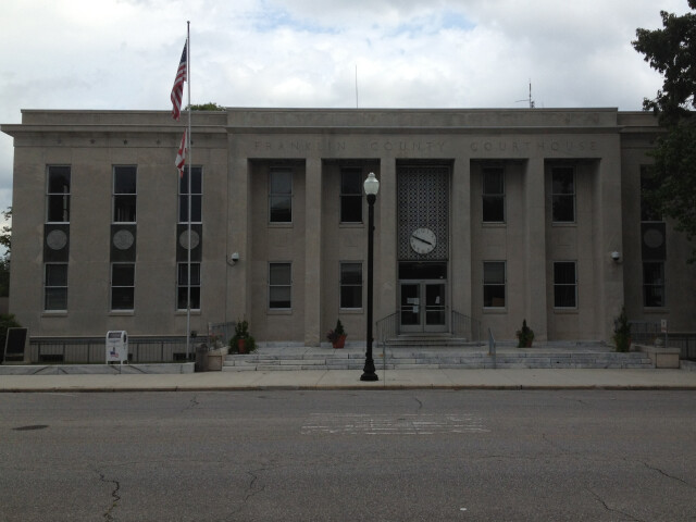 Franklin County Courthouse in Russelville  Alabama image