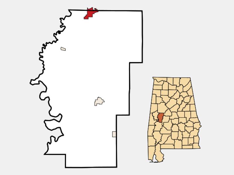 Moundville locator map