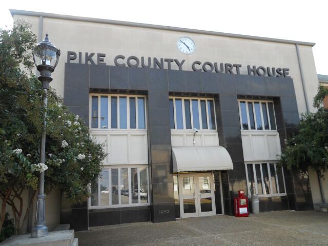 Pike County Alabama Courthouse image