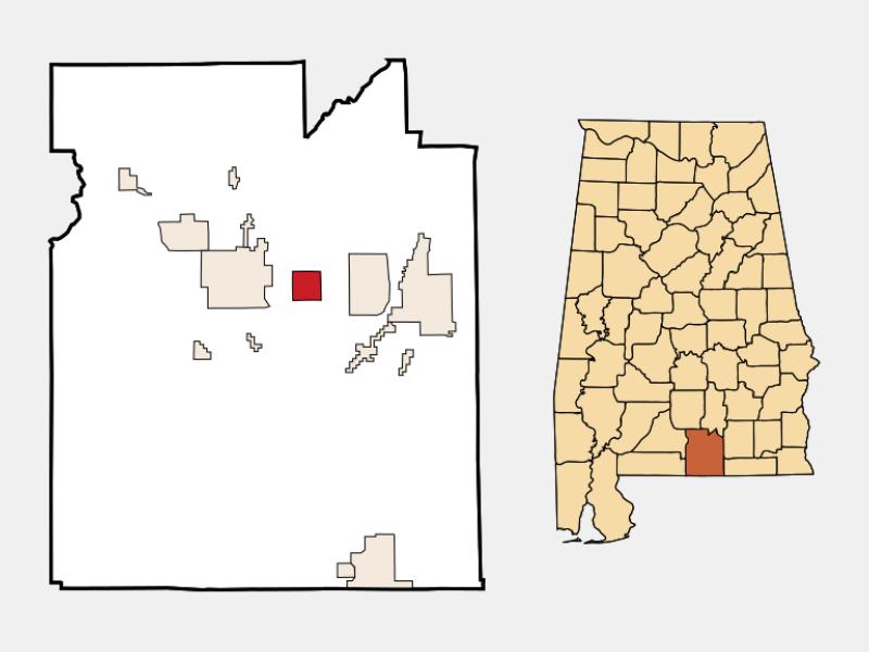 Sanford locator map