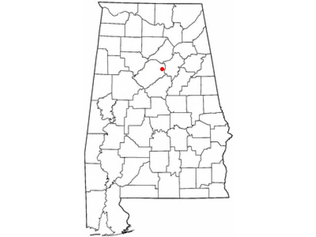 Trussville locator map