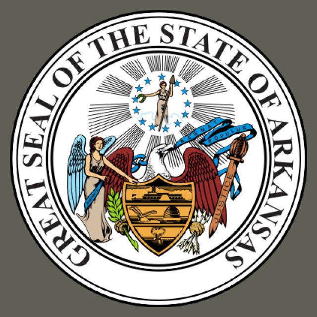 Seal of Arkansas seal image