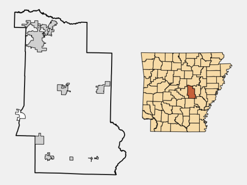 Austin locator map