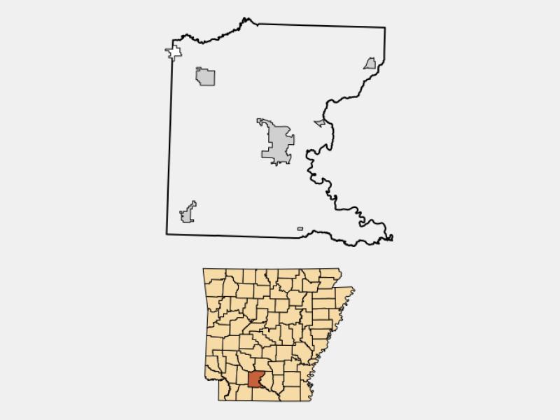 Bearden locator map