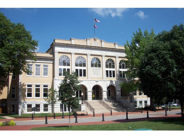 Benton County Courthouse  Bentonville  Arkansas image