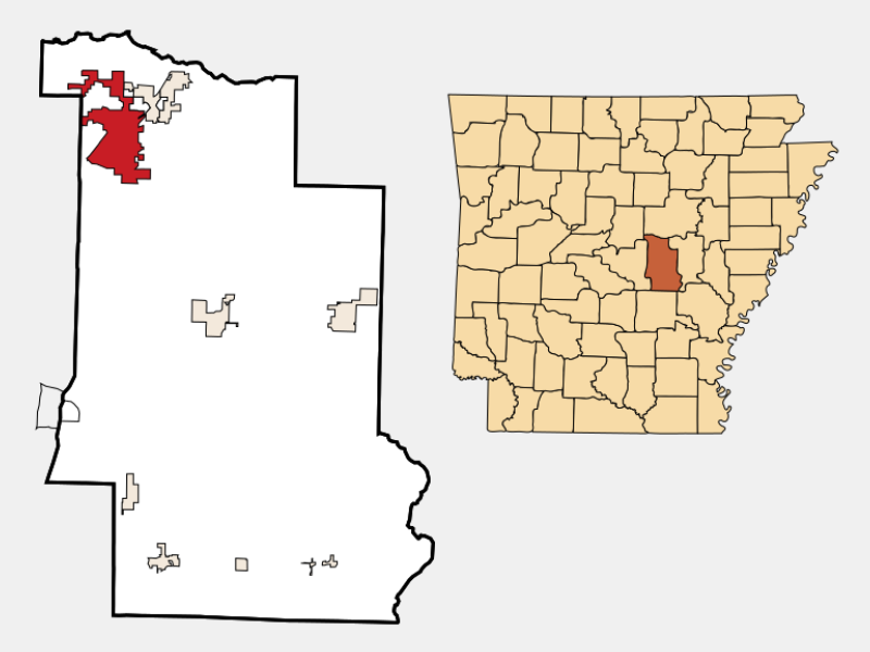 Cabot locator map