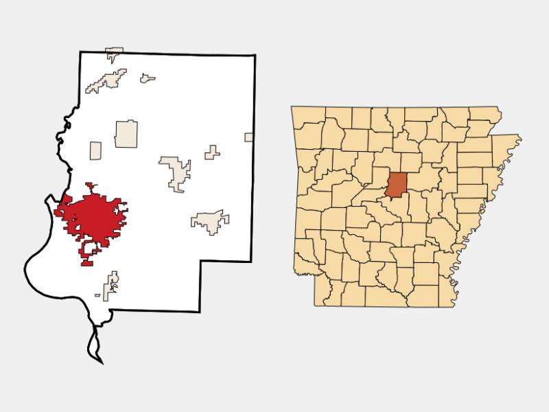 Conway locator map