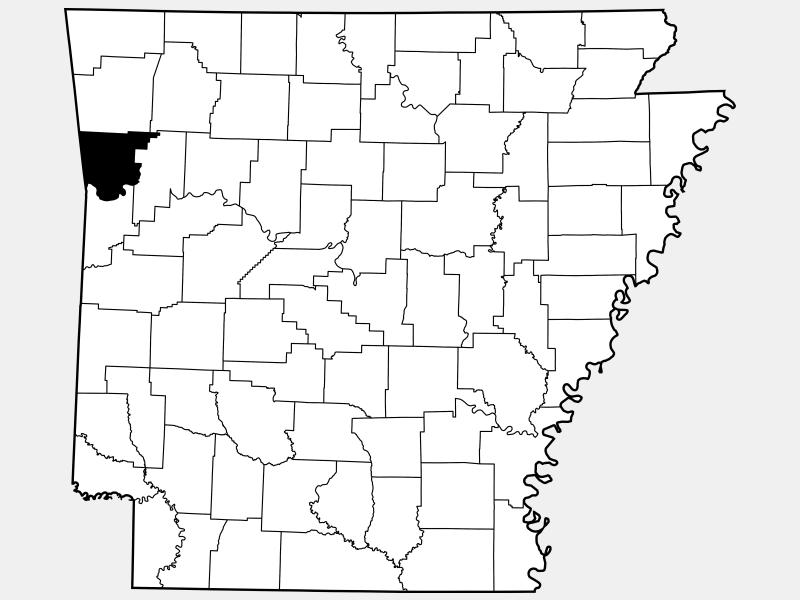 Crawford County locator map