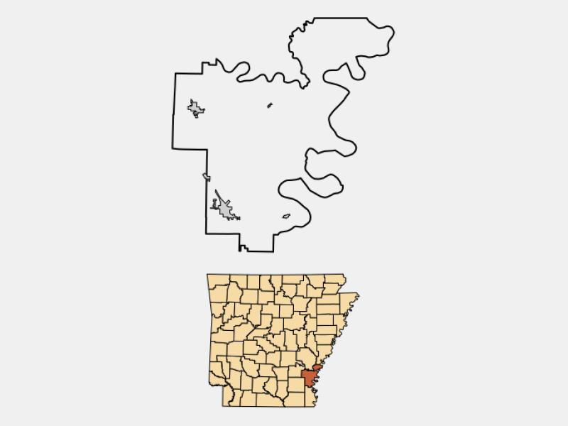 Dumas locator map
