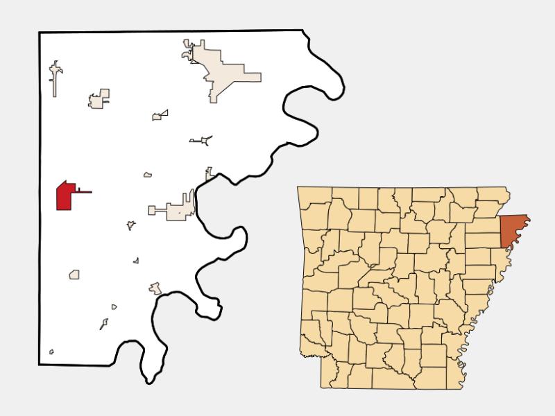 Etowah locator map