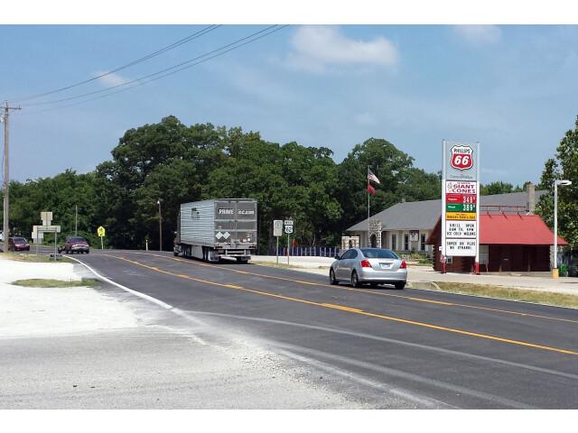 US 62 in Garfield  AR image