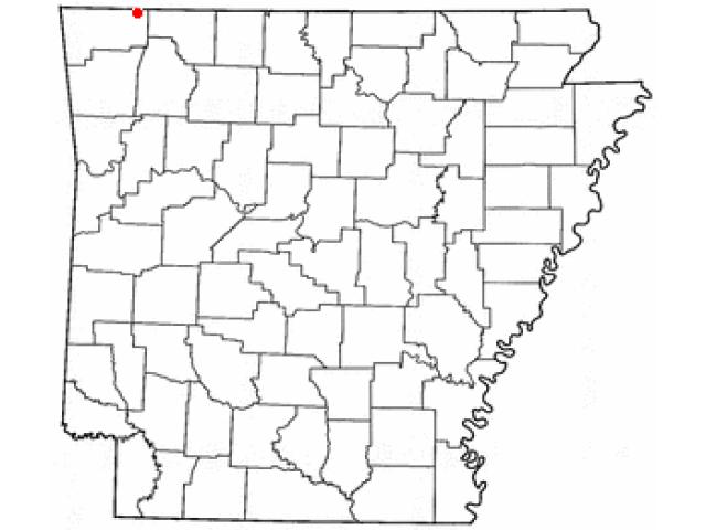 Garfield locator map