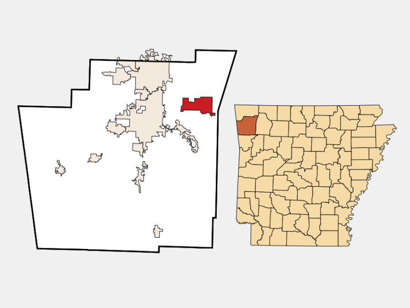 Goshen locator map