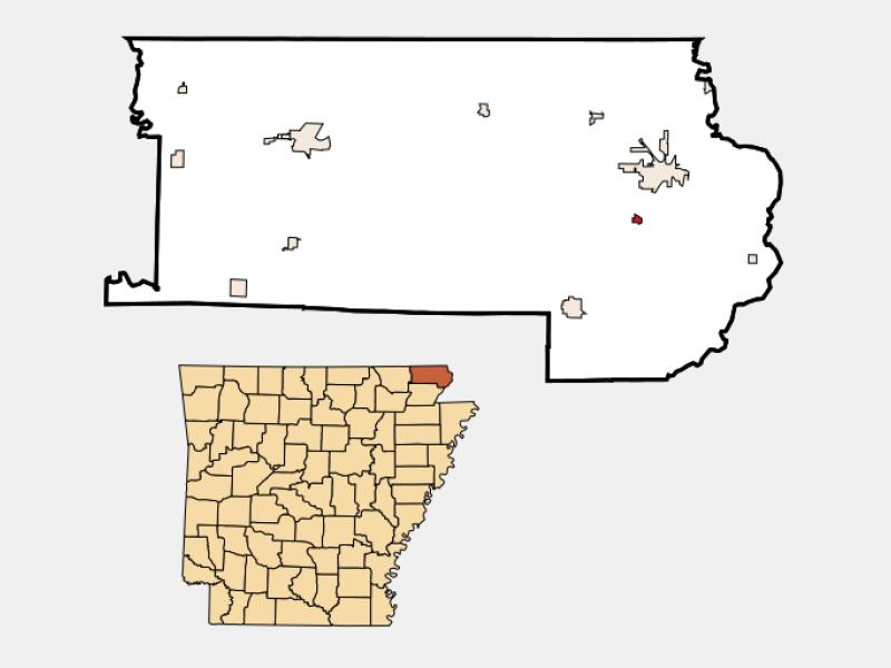 Greenway locator map