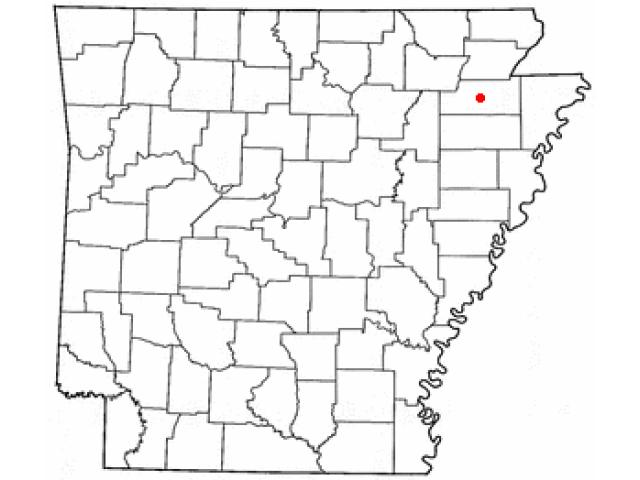 Jonesboro locator map